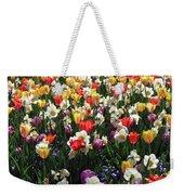 Tulips - Field With Love 57 Weekender Tote Bag