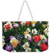 Tulips - Field With Love 58 Weekender Tote Bag