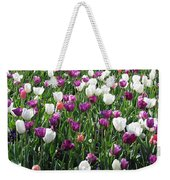 Tulips - Field With Love 60 Weekender Tote Bag
