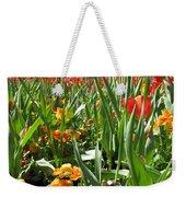 Tulips - Field With Love 64 Weekender Tote Bag
