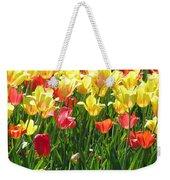 Tulips - Field With Love 65 Weekender Tote Bag