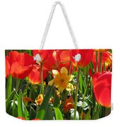 Tulips - Field With Love 71 Weekender Tote Bag