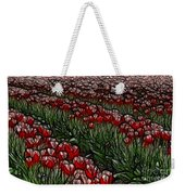 Tulips Fields Are Forever Weekender Tote Bag