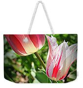 Tulips In Red And White Weekender Tote Bag