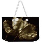 Tulips In Sepia Weekender Tote Bag