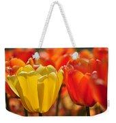 Tulips In The Midst Weekender Tote Bag