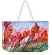 Tulips In The Wind Weekender Tote Bag