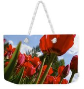Tulips Leaning Tall Weekender Tote Bag
