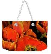 Tulips Of Fire Weekender Tote Bag
