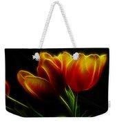 Tulips Of Light Weekender Tote Bag