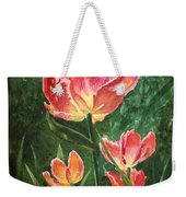 Tulips On Fire Weekender Tote Bag
