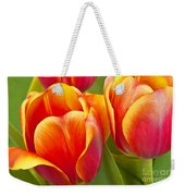 Tulips Red And Yellow Weekender Tote Bag