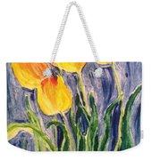 Tulips Weekender Tote Bag by Sherry Harradence