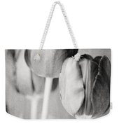 Tulips Still Life In Black And White Weekender Tote Bag