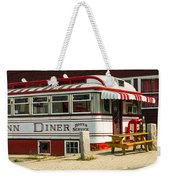 Tumble Inn Diner Claremont Nh Weekender Tote Bag by Edward Fielding