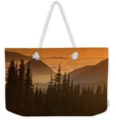 Tumtum Peak At Sunset Weekender Tote Bag