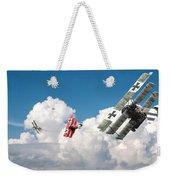 Tumult In The Clouds Weekender Tote Bag