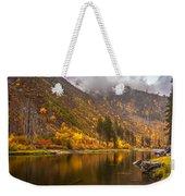 Tumwater Canyon Fall Serenity Weekender Tote Bag