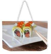 Tuna Sushi With Caviar  Weekender Tote Bag