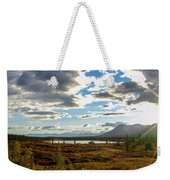 Tundra Burst Weekender Tote Bag by Chad Dutson