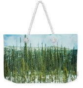 Tundra Forest Weekender Tote Bag