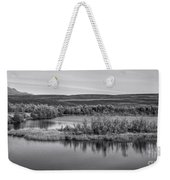 Tundra Pond Reflections Weekender Tote Bag