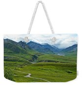 Tundra View From Eielson Visitor's Center In Denali Np-ak  Weekender Tote Bag