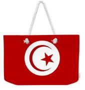 Tunisia Flag Weekender Tote Bag
