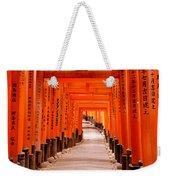 Tunnel Of Torii Gates, Fushimi Inari Weekender Tote Bag