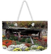 Tunnel To Fall Weekender Tote Bag