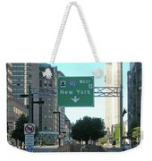 Tunnel To New York 2929 Weekender Tote Bag