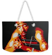 Tupac Pray For A Brighter Day Weekender Tote Bag