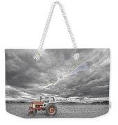Turbo Tractor Superman Country Evening Skies Weekender Tote Bag