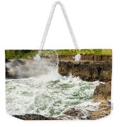 Turbulent Devils Churn - Oregon Coast Weekender Tote Bag