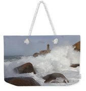 Turbulent Waters Weekender Tote Bag
