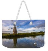 Turf Fen Drainage Mill Weekender Tote Bag