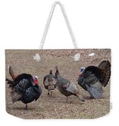 Turkey Dance Weekender Tote Bag