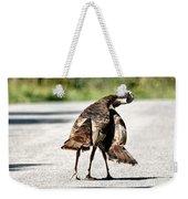 Turkey Fight Weekender Tote Bag