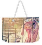 Turkey In The Cage Weekender Tote Bag