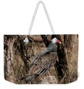 Turkey Vulture Portrait Weekender Tote Bag