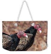 Turkey Vultures Square Weekender Tote Bag