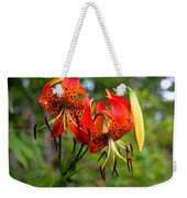 Turkish Cap Lily  Weekender Tote Bag