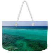 Turks Turquoise Weekender Tote Bag by Chad Dutson