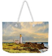 Turnberry Golf Course 9th Tee Weekender Tote Bag