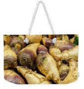 Turnip On Display At Farmers Market Weekender Tote Bag