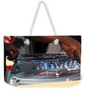 Turntable Weekender Tote Bag