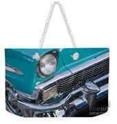 Turquoise 1956 Belair Weekender Tote Bag
