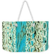 Turquoise Chained Weekender Tote Bag