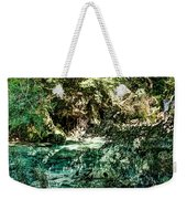 Turquoise Forest Pond On A Summer Day No1 Weekender Tote Bag