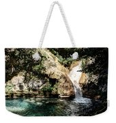 Turquoise Forest Pond On A Summer Day No2 Weekender Tote Bag